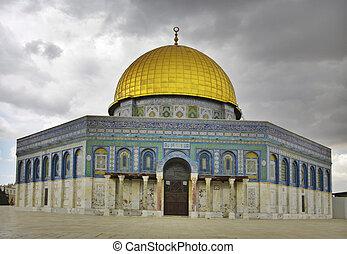 The Rock (Oman) mosque, Jerusalem, Israel