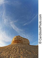 "The rock ""Sphinx"" of sandstone"
