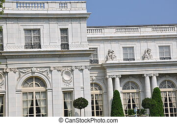 The Rosecliff Mansion in Newport