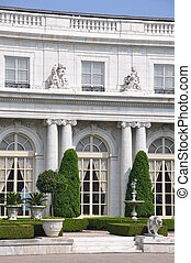 The Rosecliff Mansion in Newport, Rhode Island