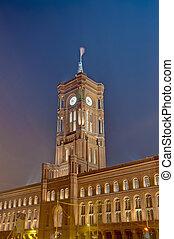 The Rotes Rathaus at Berlin, Germany - The Rotes Rathaus...