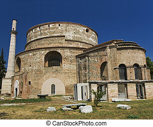 The Rotonda, Thessaloniki - The cylindrical structure was...