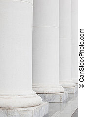 The row of classical columns