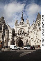 The Royal Courts of Justice in Lond