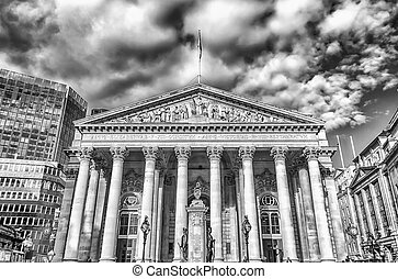 The Royal Exchange Building, London - The Royal Exchange...
