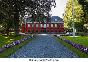 The Royal Manor Ledaal in Stavanger, Norway - The Royal...