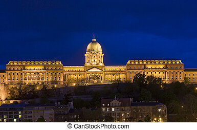 The Royal palace in Budapest