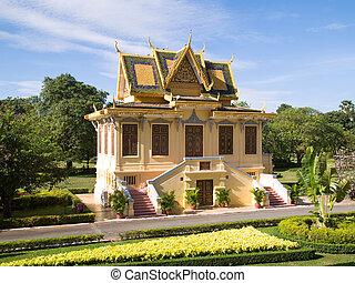 The Royal Palace in Phnmom Penh, Cambodia