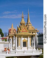 The Royal Palace in Phnom Penh, Cambodia