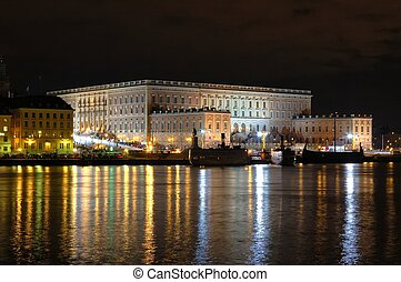 The Royal Palace in Stockholm.