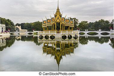 The Royal Summer Palace in Bang Pa-In, Thailand - The Bang...
