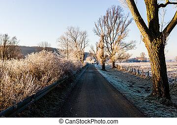 The Ruhrtal Radweg in Schwerte Geisecke, Germany