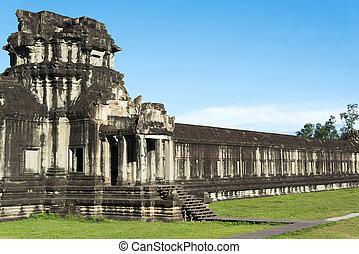 The Ruins Of Angkor Wat.