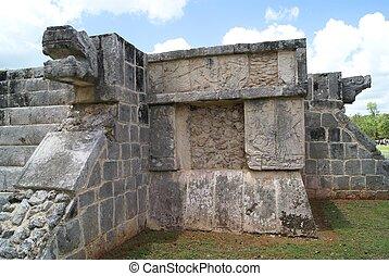 The ruins of Chichen Itza in Mexico