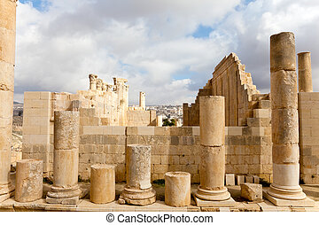 ruins zeus temple