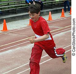 The Running boy