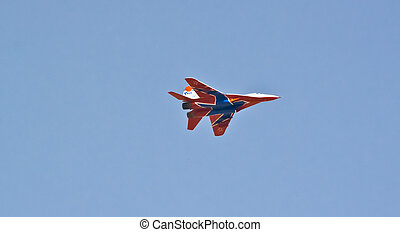 the Russian Air Force strizi