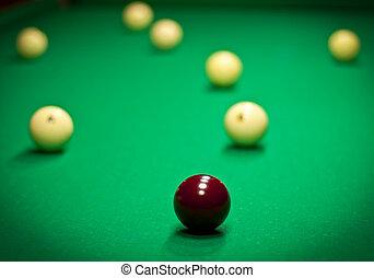 the Russian billiards