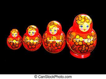 The Russian souvenirs