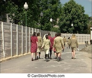 The Russian women's prison. Correctional Facility Closed