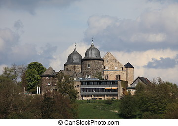 The Sababurg Castle in Germany