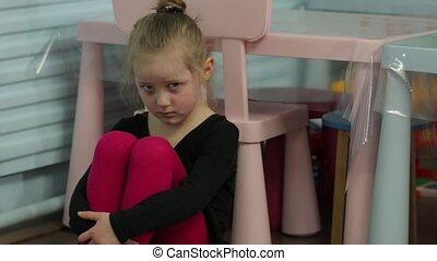 The Sad Little Girl Dancer