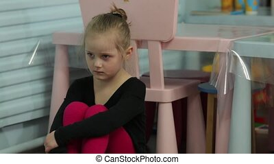 The Sad Little Girl The Ballerina