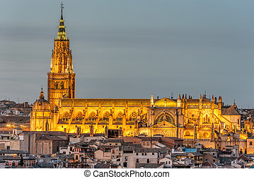 The Saint Mary Cathedral of Toledo