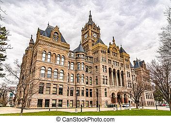 Salt Lake City and County Building in Utah