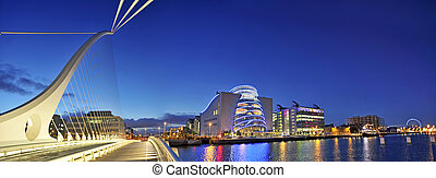 THE SAMUEL BECKETT BRIDGE in Dublin