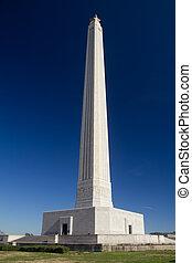 Monument - The San Jacinto Monument memorializing the battle...