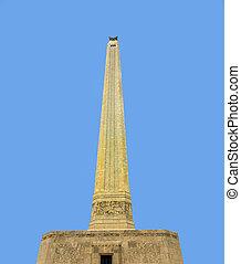 San Jacinto Monument on a nice summer day