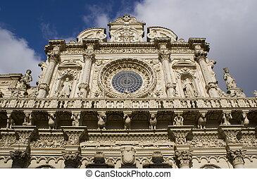 The Santa Croce Basilica, Italy - The Santa Croce Basilica ...