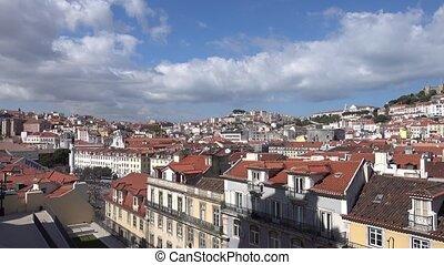 Santa Justa Lift viewpoint - The Santa Justa Lift viewpoint