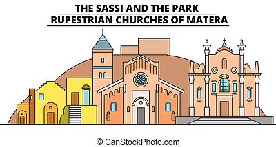 The Sassi And The Park - - Rupestrian Churches Of Matera...