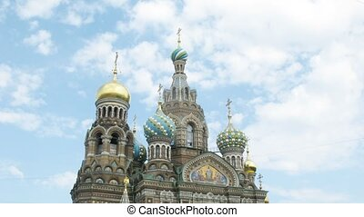 The Saviour on the Spilled Blood Cathedral. Sankt-Petersburg, Russia.