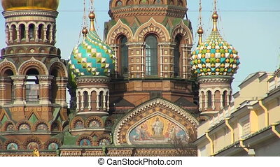 The Saviour on the Spilled Blood Cathedral. Sankt-Petersburg