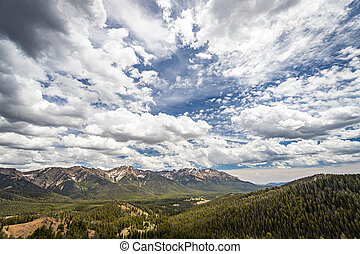 The Sawtooth National Forest covers two million acres in southern Idaho and northern Utah.