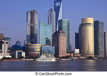 shanghai china - the scene of shanghai china.