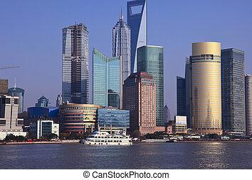 shanghai china - the scene of shanghai china.