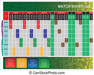 schedule for UEFA EURO 2012 - The schedule for UEFA EURO ...