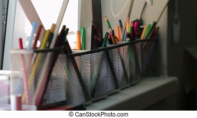The Schools Supplies - The schools supplies pens pencils...