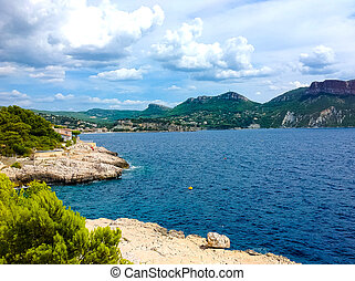 Harbor of Cassis, France - The sea and Harbor of Cassis, ...