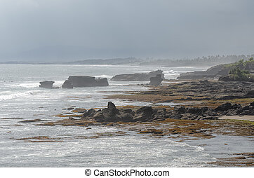 the sea in ??tanah lot