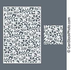 The seamless pattern for decorative