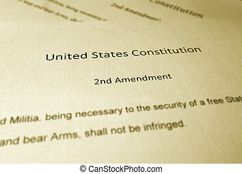 The Second Amendment - United States Constitution text of...