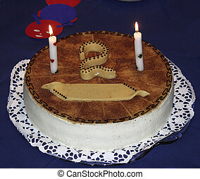 The second birthday cake - the second birthday cake ...