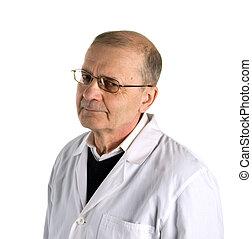 The senior doctor.