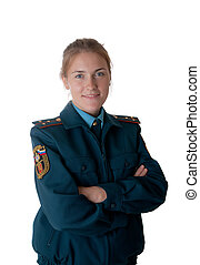 The senior lieutenant of the ministry of emergency...