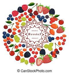 The set berries